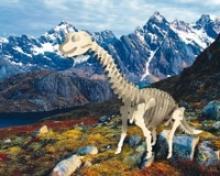 """Сборная модель """"Брахиозавр"""", Мир деревянных игрушек (МДИ)"""