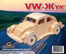 """Сборная модель """"VW-жук"""", Мир деревянных игрушек (МДИ)"""