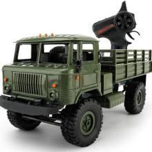 Радиоуправляемая модель Краулера Offroad Truck Газ-66 Шишига 4WD RTR 1:16, Aosenma WPLB-24