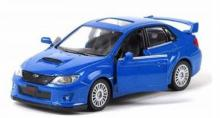 """Коллекционная металлическая модель """"Subaru WRX STI"""", IDEAL 034024"""