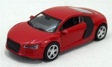 Машина металлическая, инерционная, красная, Hoffmann 49496