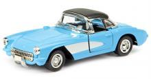 """Машина металлическая, коллекционная, инерционная """"Retro Sport"""", цвет: голубой, вид сверху-сбоку, Hoffmann 61229"""