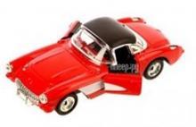 """Машина металлическая, коллекционная, инерционная """"Retro Sport"""", другого цвета - пример открывания дверей, Hoffmann 61229"""