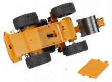 Радиоуправляемый колёсный экскаватор, 1:16 2.4GHz, вид снизу, Hui Na Toys HN1530