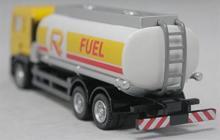 """Коллекционная масштабная, металлическая игровая модель """"Man Oil Tanker"""", вид сзади, IDEAL 038031"""