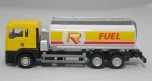 """Коллекционная масштабная, металлическая игровая модель """"Man Oil Tanker"""", вид сбоку, IDEAL 038031"""