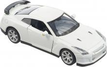 Модель машины металлическая, инерционная, 1:32, цвет белый, вид сверху-спереди, Hoffmann 49505