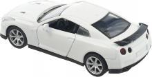 Модель машины металлическая, инерционная, 1:32, цвет белый, вид сверху-сзади, Hoffmann 49505
