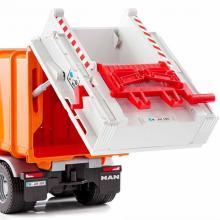 """Модель автомобиля мусоровоз MAN TGS, выгрузка """"мусора"""", Bruder (Брудер) 03-762"""