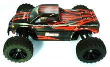 Радиоуправляемая модель Монстра Bowie 4WD RTR 1:10 влагозащита, вид сбоку, Himoto E10MT