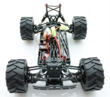 Радиоуправляемая модель Монстра Crasher 4WD RTR 1:18 влагозащита, шасси, Himoto E18MC