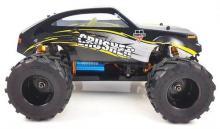 Радиоуправляемая модель Монстра Crasher 4WD RTR 1:18 (б/к система) влагозащита +Li-Po, вид сбоку, Himoto E18MCL