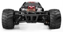 Радиоуправляемая модель бездорожного Монстра Mastadon 4WD RTR 1:18, вид спереди, Himoto E18MT