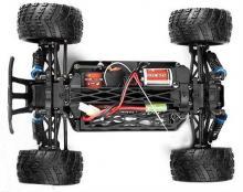 Радиоуправляемая модель бездорожного Монстра Mastadon 4WD RTR 1:18, шасси, Himoto E18MT