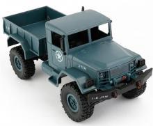 Радиоуправляемая модель Краулера Military Truck M923 4WD RTR 1:16, вид спереди сверху, Aosenma WPLB-14