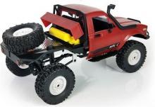 Радиоуправляемая модель Краулера Aosenma Offroad Desert Car 4WD RTR 1:16, вид сзади с аккумулятором, Aosenma WPLC-14
