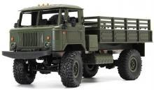 Радиоуправляемая модель Краулера Offroad Truck Газ-66 Шишига 4WD RTR 1:16, вид сбоку, Aosenma WPLB-24