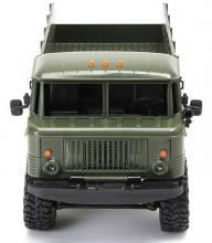Радиоуправляемая модель Краулера Offroad Truck Газ-66 Шишига 4WD RTR 1:16, вид спереди, Aosenma WPLB-24