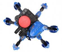 Радиоуправляемый боевой робот-паук Keye Toys Space Warrior (диски), синий вид сверху, Keye Toys KY9005-1
