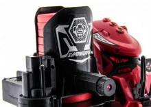 Радиоуправляемый боевой робот-паук Keye Toys Space Warrior (диски), красный приближенный вид, Keye Toys KY9005-1