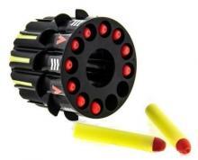 Радиоуправляемый боевой робот-паук Space Warrior с лазерным прицелом (ракеты) 2.4GHz, барабан с 12 снарядами, Keye Toys KY9006-1