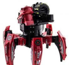 Радиоуправляемый боевой робот-паук Space Warrior с лазерным прицелом (ракеты) 2.4GHz, красного цвета вид сзади, Keye Toys KY9006-1