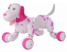 Радиоуправляемая собака-робот Smart Dog розовая, Happy Cow 777-338
