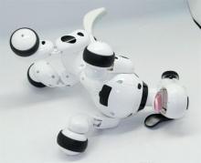 Радиоуправляемая собака-робот Smart Dog черная, играет, Happy Cow 777-338