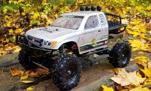 Радиоуправляемая модель для Трофи-Триала Trial Rigs Truck 4WD RTR 1:10, вид на покатушках, Remo Hobby RH1093-ST