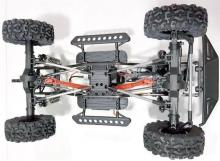 Радиоуправляемая модель для Трофи-Триала Trial Rigs Truck 4WD RTR 1:10, вид шасси, Remo Hobby RH1093-ST