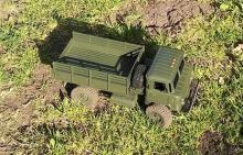"""Взять на прокат радиоуправляемую модель внедорожного грузовика Краулера Газ-66 """"Шишига"""" в Новосибирске, фото вид сверху"""
