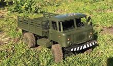 """Взять на прокат радиоуправляемую модель внедорожного грузовика Краулера Газ-66 """"Шишига"""" в Новосибирске"""