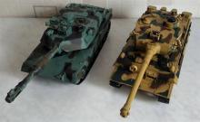 Взять на прокат модели танков Leopard и Tiger на радиоуправлении с ИК танковым боем, масштаб 1:28