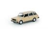Модель автомобиля ВАЗ-2104, бежевая, масштаб 1:24, Автопанорама